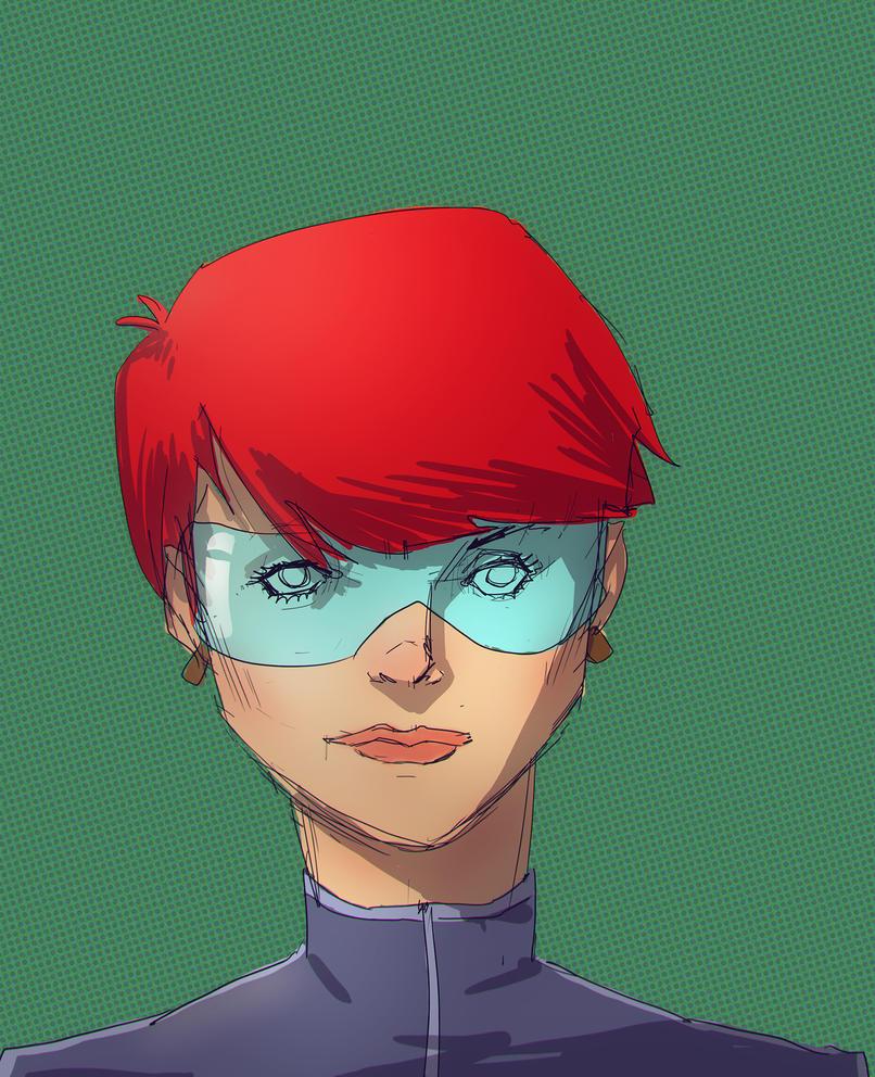 redhead by feeesh