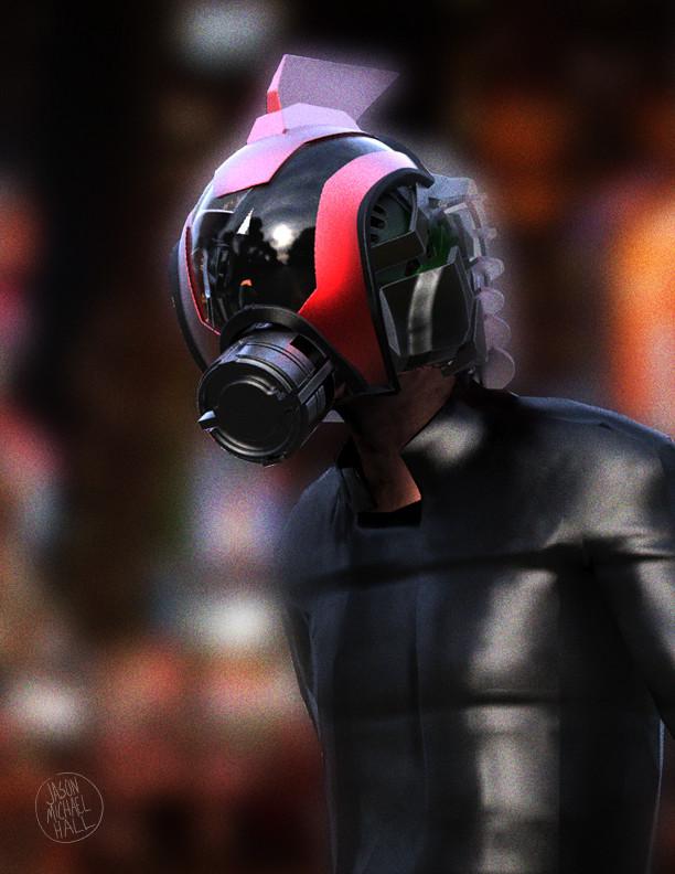 Sci-Fi Helmet by feeesh