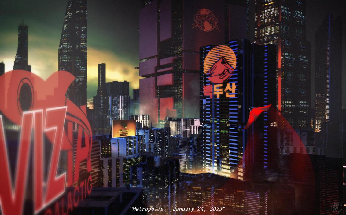 Superman in Metropolis - January 24, 3023 by feeesh