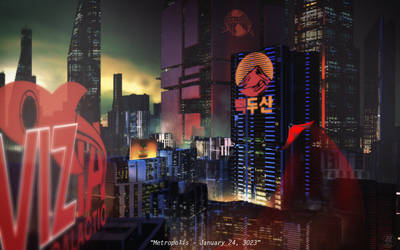 Superman in Metropolis - January 24, 3023 by feeesh