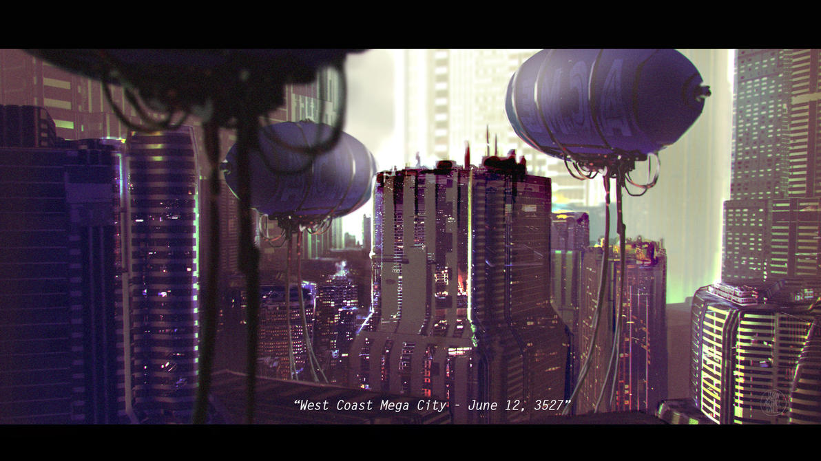 West Coast Mega City - June 12, 3257 by feeesh