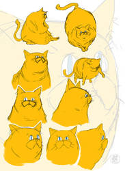 Pickles sketches 2 by feeesh