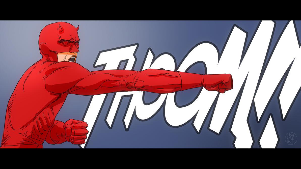 Daredevil THOOOOM! by feeesh