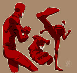 Daredevil doodles by feeesh