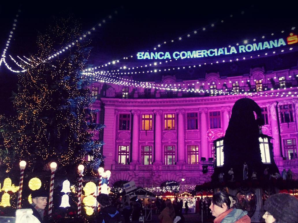 Winter in Bucharest by RoxanneD