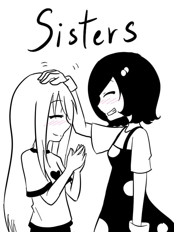 how to draw anime sisters
