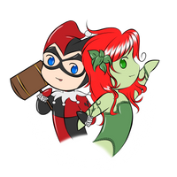 Harley and Ivy by Aizu-chan