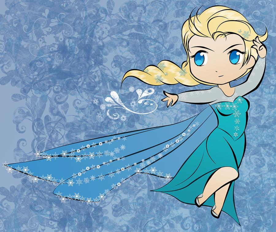 GIFT= Elsa by Aizu-chan