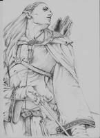 Legolas of Woodland Realm by Ori-Clayfoot