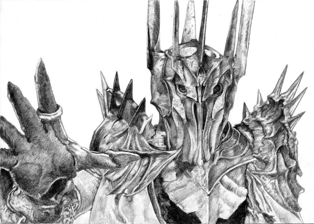 Sauron by Ori-Clayfoot on DeviantArt