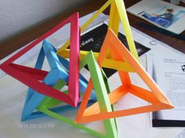 Origami Triangles -3
