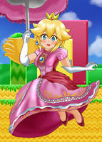 Princess Peach by ShiyaMoegin