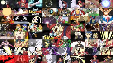 Super Smash Bros Anime x DB Super Opening 2 by ShiyaMoegin