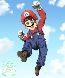 Mario by ShiyaMoegin