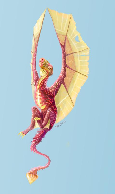 Dragon child by Kelshray