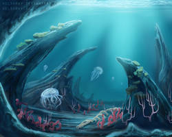 Ocean by Kelshray