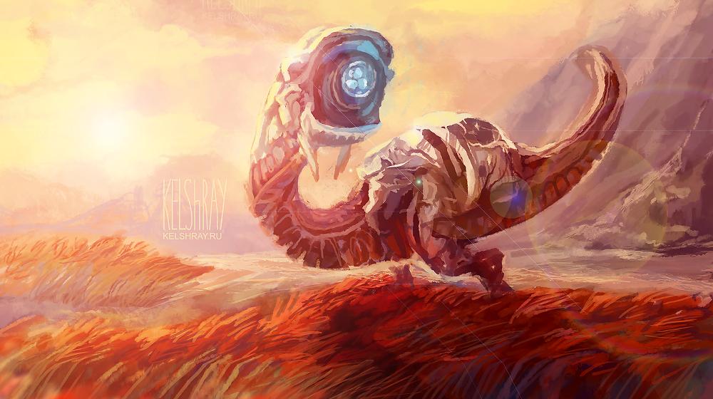 HZD - Watcher by Kelshray
