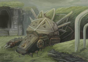 Colossus by Kelshray