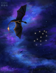 Dragon-sky [com] by Kelshray