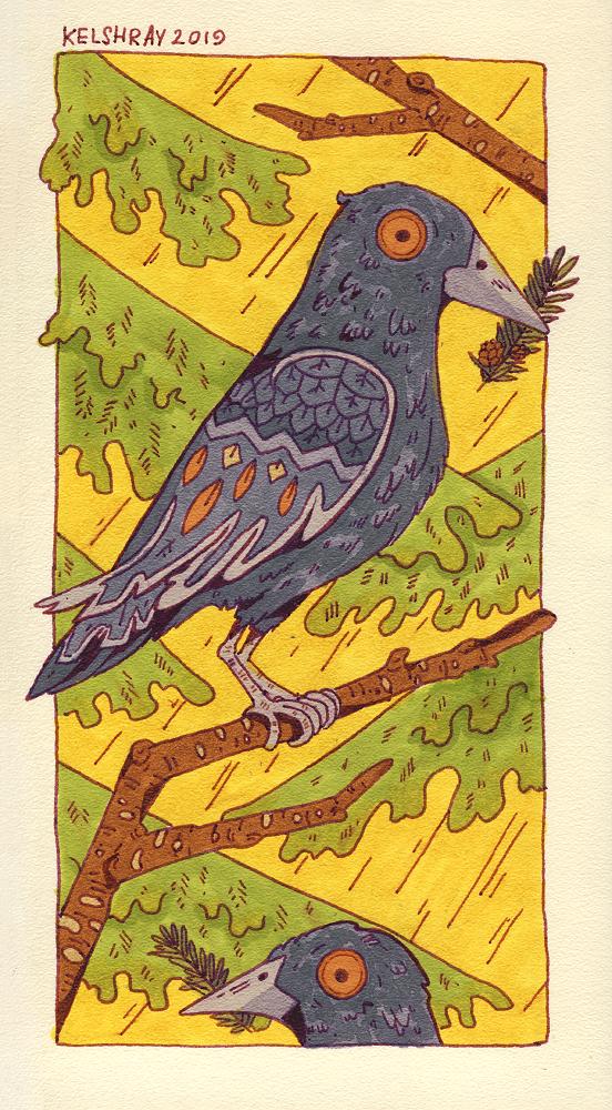Ravens by Kelshray