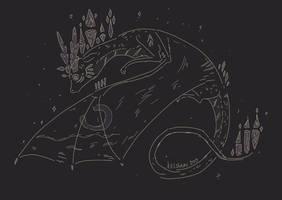 Dragon Sketch - from raffle