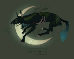 [ CHARACTER AUCTION - CLOSE ] darkmoss creature #1