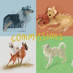 Stylization price-list (commissions)