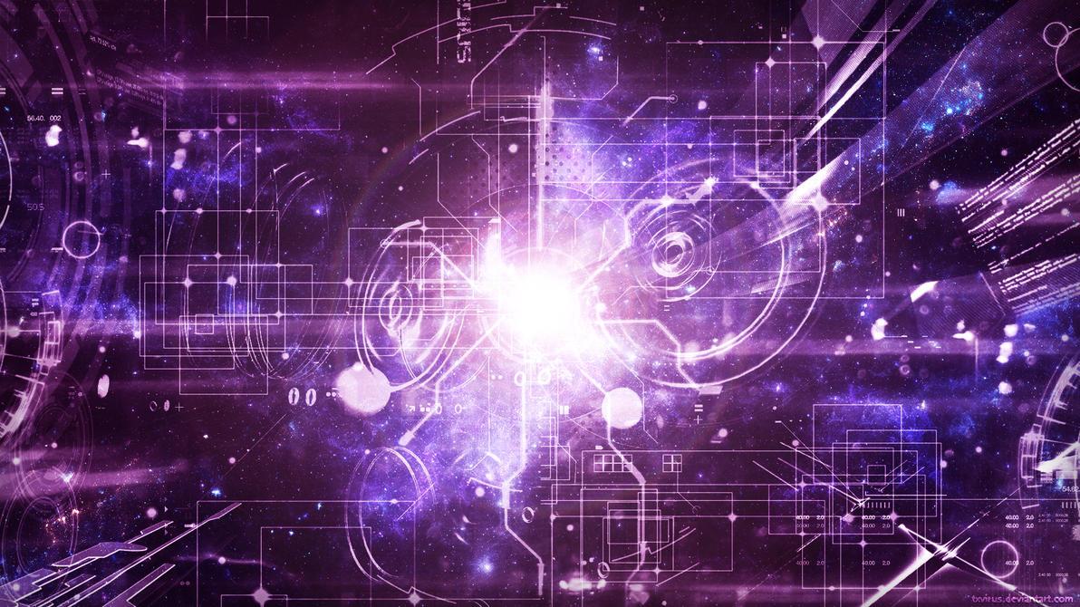 Techno Galaxy Violet By Txvirus On Deviantart