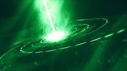 The Spiral (Green) by txvirus