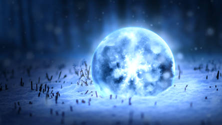Ice Sphere 2017 by txvirus
