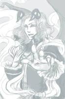 AnimaMundi: Mephistopheles sketch by RozenFuhrer