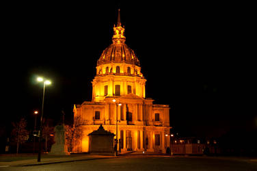 Paris by night : Invalides by PhoenixKamiV