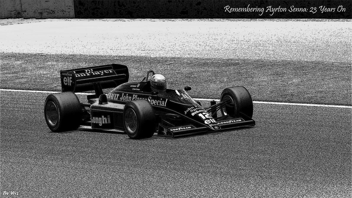 Tribute to Senna by wiz84590