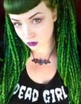 Dead Girl with Green Hair