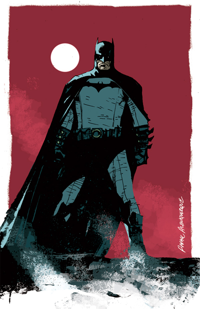 Batman by rafaelalbuquerqueart