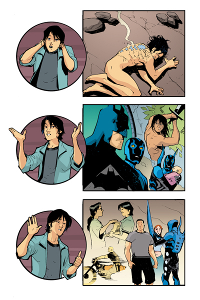 Blue Beetle 13 - pg 01 by rafaelalbuquerqueart