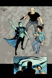 Blue Beetle 13 - pg 02 by rafaelalbuquerqueart