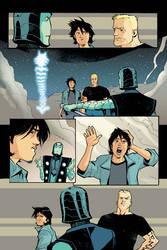 Blue Beetle 13 - pg 03 by rafaelalbuquerqueart