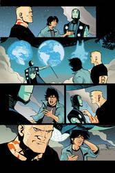 Blue Beetle 13 - pg 04 by rafaelalbuquerqueart