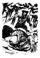 Wolverine - Sabretooth by rafaelalbuquerqueart