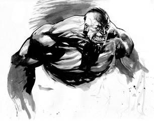 Hulk by rafaelalbuquerqueart