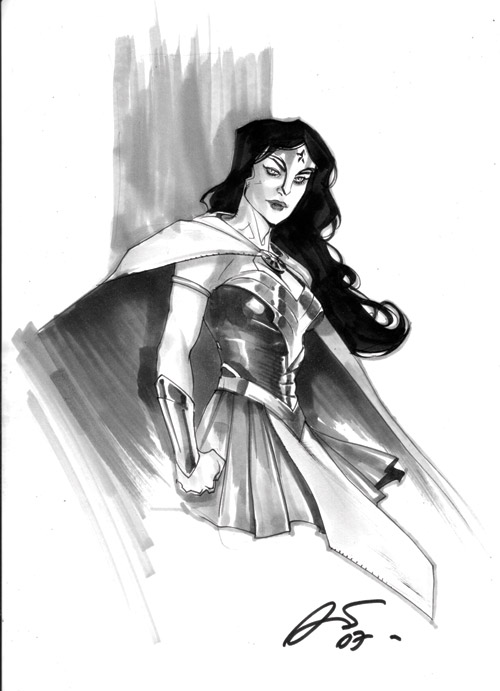Wonder Woman by rafaelalbuquerqueart