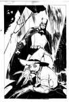 Batman vs Scarecrow Commission