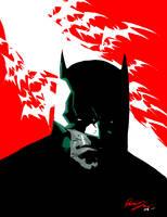 Batman quick sketch by rafaelalbuquerqueart