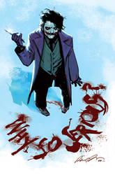 The Joker by rafaelalbuquerqueart