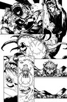 Green Lantern 40 - pg4 by rafaelalbuquerqueart