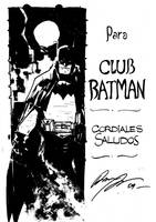 Batman for Batman Club by rafaelalbuquerqueart