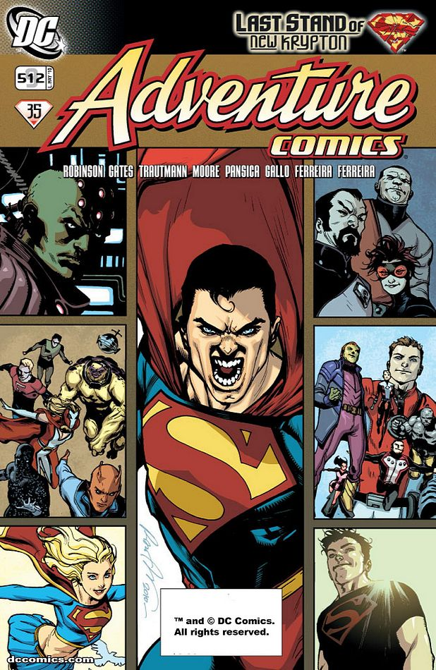 Adventure Comics 9 by rafaelalbuquerqueart