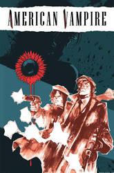 American Vampire 10 Cover by rafaelalbuquerqueart