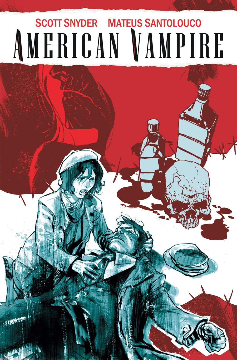 American Vampire 11 Cover by rafaelalbuquerqueart